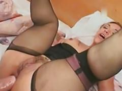 Bridget the midget does anal midget dwarf cumshots swallow