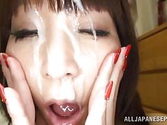 japanese, cumshot, blowjob, titfuck, asian babe, japanese slurp, all japanese pass, rei aimi