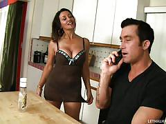 Persia seduces the guest