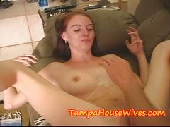 Teen daughter gets creamed by a old daddy