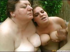 Bbw hot 3some