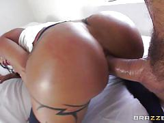 milf, tattoo, anal, spanking, stockings, busty, big butt, rubbing, gape, big wet butts, brazzers network, jewels jade, ramon
