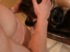 Eva karera's pussy massage by a stud's hard cock