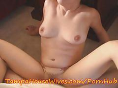 Teen housewife gets a load