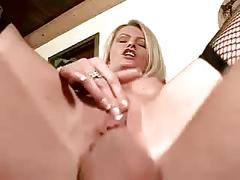 German blonde dp fun