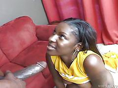 Bitch from the ghetto fucked hard @ 142 inches of black cock #03