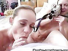 Sunny and holly on pov threesome