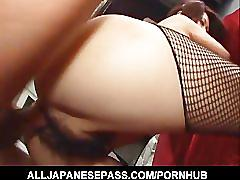 Fuuka takanashis big tits sway to and fro as she is pummeled dogg