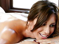 Sensational girl on girl massage