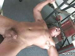 Sexy redhead slut gives a good blowjob