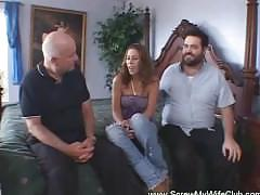 Mrs. hotwife swinger cuckold hubby