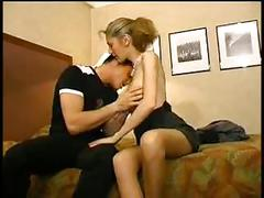 French couple fuck and make a fist anal