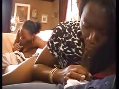 Vintage scene with blacks
