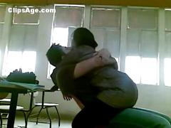 Arab trainee teacher having sex with student