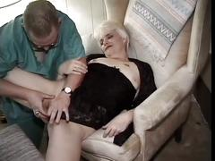 Old woman fuck with a small dick