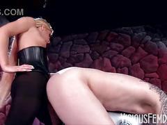 strapon, dominatrix, pegging