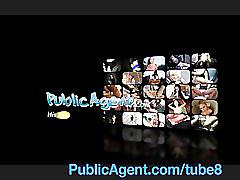 Publicagent blonde lauras ass gets covered in my cum