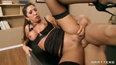 Kayla carrera in office sex