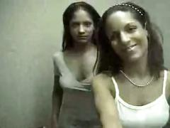 Indian twins show off their lesbian side - ku