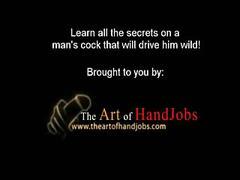 African hot handjob