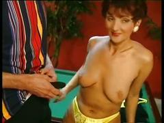 Hot mature euro redhead cougar banging in heels