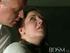 Bdsm xxx caged sub learns the hard way with anal treatment