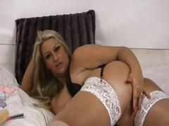 Dani amour masturbating on cam