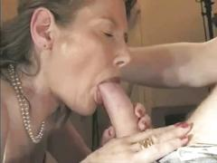 Hot french mature into sex from behind by troc