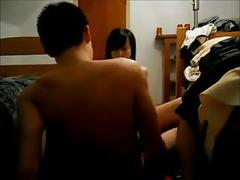 19yr old asian coed fucking in the dorm