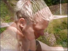 Horny tiwnky anal banging in the wilds