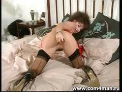 Sexy brunette sarah young solo masturbating