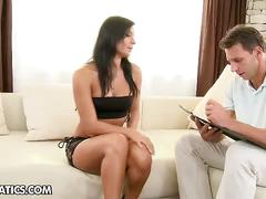 Double penetrating interview