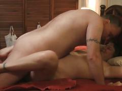 Curvy mature amateur rides cock