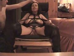 Bound fisted and fucked