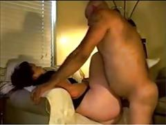 Dabused chair daddy does doggy dickin demonstration