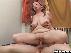Horny moms alona and ross addicted to hard cock