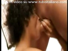 Mulatta italiana trombata italian black girl fucked