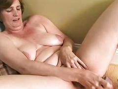 masturbation, toys, mature, brunette, anilos.com, solo, orgasm, fingering, dildo, vibrator