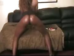 Nice black girl show with orgasm( by edquiss)