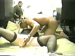 White wife anal sex