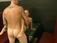 Blonde trades sex for cash