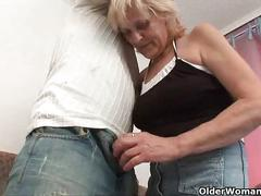Blow your load on mom's face
