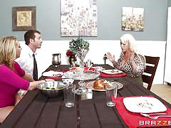milf, busty teen, blonde, big tits, deepthroat, school, classroom, under table, big tits at school, brazzers network, jordan ash, brooke wylde