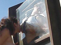 Chubby lesbians in love - scene 2