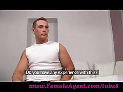 Femaleagent. massive cumshot from seasoned veteran