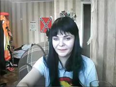 Caugth to dina saunina webcam4