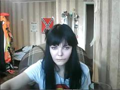 Caugth to dina saunina webcam4