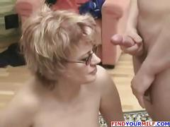 anal, busty, mom, son, friend