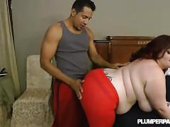 Amateur bbw slut trinety guest fucks in first xxx scene