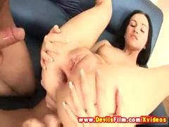 anal, sex, hot, babe, chick, huge, threesome, group, cocks, cumshots